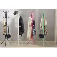 Wholesale Colorful Floor Standing Storage Rack Shelf Clothes / Hat / Coat Rack Hanger Stand from china suppliers