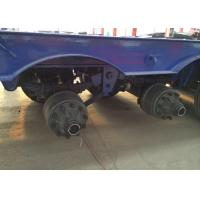 Wholesale Low-bed Semi Trailer Truck 3 Axles 70Tons 15m for carrying construction machine from china suppliers