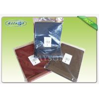 Wholesale Individual Packing Overseas Stable Uniformity Disposable Fabric Tablecloths Multi Shape from china suppliers