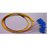 Wholesale UPC SC Fiber Optic Cable Multimode , 12 Core Pigtail Cable High Credibility from china suppliers