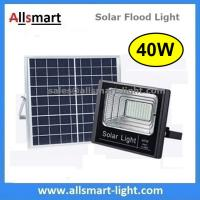 Wholesale 40W Solar Flood Lights Outdoor Solar Light Solar Garden Lamp With Remote Controller for Patio Street Parking Lot from china suppliers