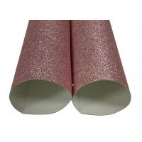 Wholesale Decorating Rose Gold Glitter Paper , Shinning Craft Glitter Paper Sheets from china suppliers