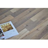 Quality Oak Wood Waterproof Laminate Flooring , Square edge, Wax Coated Flooring ,Double Click for sale