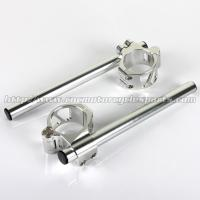 Wholesale CNC Machining Motorcycle Clip Ons Handlebars 54mm Buell Firebolt 1125 from china suppliers