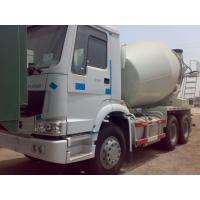 Wholesale 6 x 4 Driving Cement Mixer Truck Concrete Mixing Equipment With 10 CBM Mixer Tank  10 Speeds from china suppliers