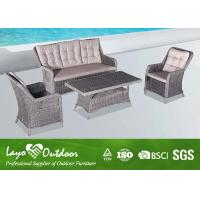 Wholesale Hotel Project Furniture Used Patio Seating Sets , Rattan Garden Furniture Outdoor from china suppliers