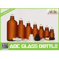Wholesale 5ml, 10ml,15ml,20ml,30ml,100ml Empty Glass Essential Oil Bottle With Pipette from china suppliers