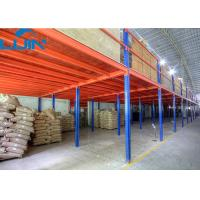 Wholesale 2 Levels Industrial Storage Rack Steel / Plywood Flooring Custom Size from china suppliers