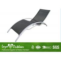 Wholesale Heavy Duty Patio Sun Loungers Folding Beach Chairs 2 X 2 Sling Fabric from china suppliers