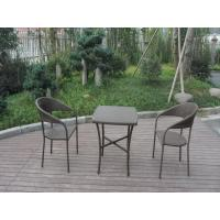 European Style Rattan Garden Dining Sets For Bistro Balcony Of Item 98928323