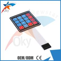 Wholesale 4 x 4 Matrix Array Breadboard For Arduino 16 Key Membrane Switch Keypad from china suppliers