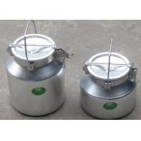Wholesale High - Sealing Carried Type Food Grade Aluminum Bucket For Beer , 5 Liter from china suppliers