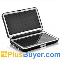 Wholesale 2,000 mAh Solar Battery Charger with 2 USB Ports from china suppliers