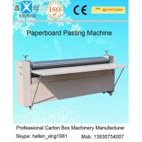 Wholesale Corrugated Paperboard Automatic Cartoning Machine BJ Series Of Gum Mounting Machine from china suppliers