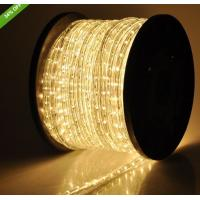 Wholesale flexible led light 2 wire warm white christmas rope lights from china suppliers