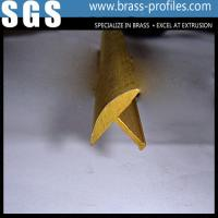 Wholesale Moistureproof Deorative Brass Extruding Floor Embedded T Sheet from china suppliers