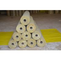 Wholesale Low Dust Rockwool Pipe Insulation , Mineral Wool Thermal Insulation Pipe from china suppliers