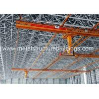 Wholesale ASTM CE Prefab Steel Frame Building , Contemporary Prefab Homes Workshop from china suppliers