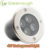 Wholesale LED Inground light/Path Driverway Light /Buried Underground Light GNH-UG-4X1W-R-C from china suppliers