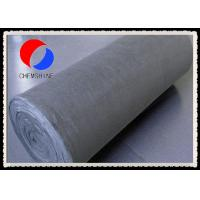 Wholesale PAN Based Flexible Carbon Fiber Mat for Heat Treating Furnaces , Low Ash Content from china suppliers