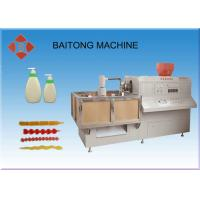 Wholesale Extrusion Hydraulic Plastic Moulding Machine , Semi Automatic Bottle Molding Machine from china suppliers