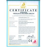 Anhui Zline Bakery Machinery Co., Ltd. Certifications
