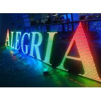 Wholesale Metal LED lighted sign letters for outdoor advertising decoration from china suppliers