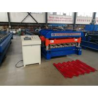 Wholesale Material Width 1220 mm Rib 40 MM  Glazed Tile Roll Forming Machine Use PPGI And GI from china suppliers