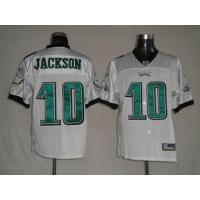 Wholesale Eagles Jackson # 10 white/ green/ blue jersey from china suppliers