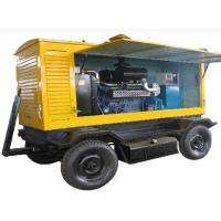 Wholesale AC Three Phase Trailer Mounted Diesel Generator 85kva 68kw For Construction Sites from china suppliers