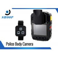 Wholesale Security Guard Police Body Cameras , 32GB Bluetooth Body Camera Battery Life Long from china suppliers