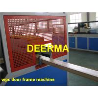 Wholesale Door Frame PVC WPC Production Line Plastic Profile Extrusion Machine from china suppliers