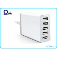Wholesale 5 Ports USB Charging Station Desktop USB Hub with 40W 8A  for USB Smart Charger from china suppliers