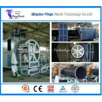 Wholesale Huge Diameter Plastic Hollow Wall Winding Drain Pipe Machine from china suppliers