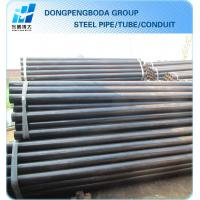 Quality black steel Scaffolding pipe Tube 48.3 X4.0mm export import China supplier made in China for sale