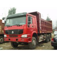 Wholesale 24 Tons Loading Large Dump Truck , Commercial Dump Trucks With One Sleeper Cabin For Transport Clayey Sand from china suppliers