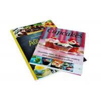 Wholesale A4 Full Color Custom Cookbook Printing Hardcover Recipe Book Printing Service from china suppliers