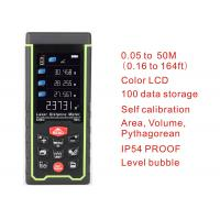 Wholesale 50m 164ft with Color LCD and Tilt angle Digital rechargeable Laser Rangefinder laser distance meter measure tools from china suppliers