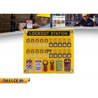 Wholesale OEM PP Material Lockout Tagout Board 20 - Locks Customizable Digits from china suppliers