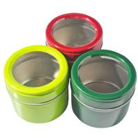 Wholesale Magnetic Empty Gift Tins / Clear Window Tinplate Box With Cover from china suppliers