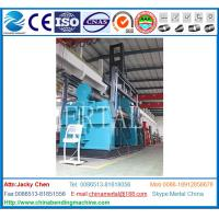 Wholesale plate rolling machinery, hydraulic plate rolling machine, hydraulic plate bending machines, heavy duty plate rolls from china suppliers
