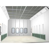 Wholesale 4 Folded Door Glass Window Ceiling Filter Car Care Spray , Side Draft Paint Booth from china suppliers