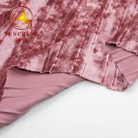 Wholesale 2018 New China wholesale crumple korean velvet fabric for dress from china suppliers
