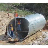 Wholesale Assembly Galvanized Corrugated Culvert Pipe from china suppliers