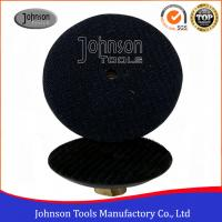 "Wholesale 3"" , 4"" , 5"" Rubber Granite Polishing Pads Holder , Black Color Diamond Polishing Discs from china suppliers"