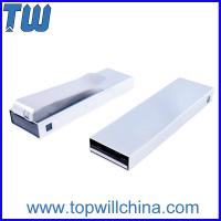 Solid Metal Clip Usb Drive 16GB for Business Free Logo Printing Company Gift