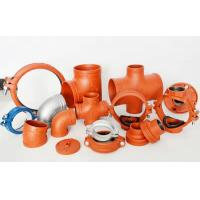 Wholesale CCC FM UL High quality Ductile iron grooved fittings from china suppliers
