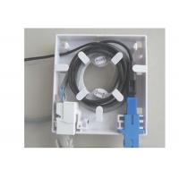 Wholesale FTTH Fiber Optical 1 or 2 Port rj45  Faceplate ,FTTH Fiber Optical Wall Plate from china suppliers