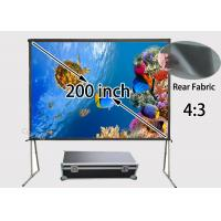 Wholesale Ultra Large 200inch Rear Projection Screens 4 / 3 For 3d Full Hd Beamer from china suppliers