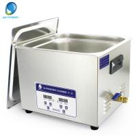 Wholesale 15L Digital Bench Top Ultrasonic Cleaner With Heating FunctionAnd Time Control from china suppliers